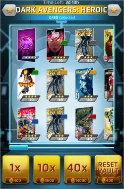 Heroic Mode-Dark Avengers (6) Offer