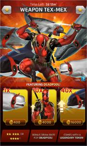 Weapon Tex-Mex Comic (Off-season) Offer