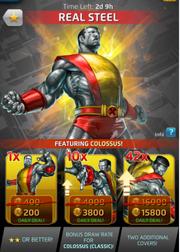 Real Steel Comic (Season VI) Offer