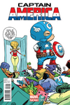 Steve Rogers (Super Soldier) Young Cover