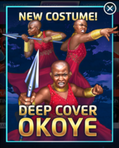 Deep Cover Okoye