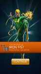 Recruit Iron Fist (Immortal Weapon)