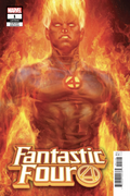 Human Torch (Classic) Cover2018