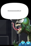 Symbiote Carrier Cutscene