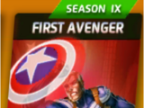 First Avenger (Season IX)