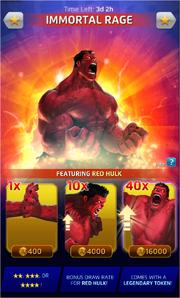 Immortal Rage (Season XX) Offer
