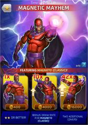 Magnetic Mayhem Comic (Season VII) Offer