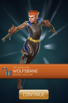 Wolfsbane (Rahne Sinclair) Recruit
