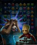 Rocket & Groot (Awesome Mix Vol 2) Don't Push This Button