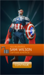 Recruit Sam Wilson (Captain America)