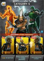 Category-5 Comic (Season VII) Offer