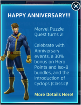 2nd Anniversary Announcement
