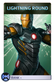 Iron Man Lightning Round