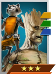 Enemy Rocket & Groot (Most Wanted)