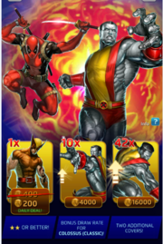 Deadpool vs Marvel Puzzle Quest Offer