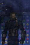 Captain America (Infinity War) Rope-a-Dope