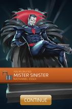 Mister Sinister (Nathaniel Essex) Recruit