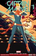 Captain marvel 2016 vol1