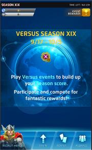 Season XIX Screen