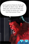 Dialogue Red Hulk (Thunderbolt Ross)