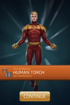 Human Torch (Jim Hammond) Recruit
