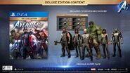 Avengers Game Deluxe Edition Content