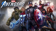 Marvel's Avengers (video game) box art