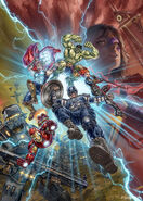 David Yardin Avengers Poster