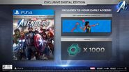 Avengers Game Digital Edition Content