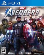 Marvel's Avengers (video game) box art PS4
