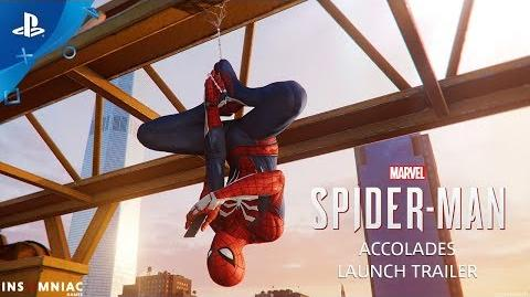 Marvel's Spider-Man – Accolades Trailer PS4