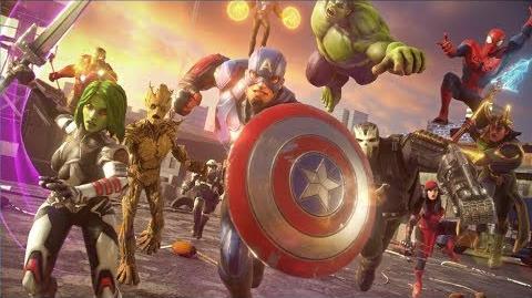 Marvel Strike Force Launch Trailer