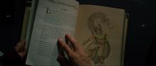 Loki est commémoré dans un livre
