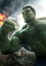 Avengers age of ultron hulk-art