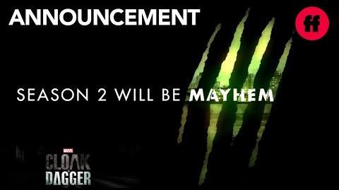 Marvel's Cloak & Dagger San Diego Comic Con 2018 Season 2 Announcement Freeform