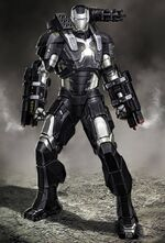 Armure War machine captiain america civil war
