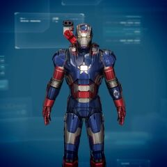 Iron Patriot : Iron Man 3