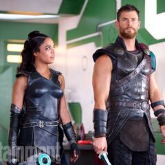 Thor et Valkyrie
