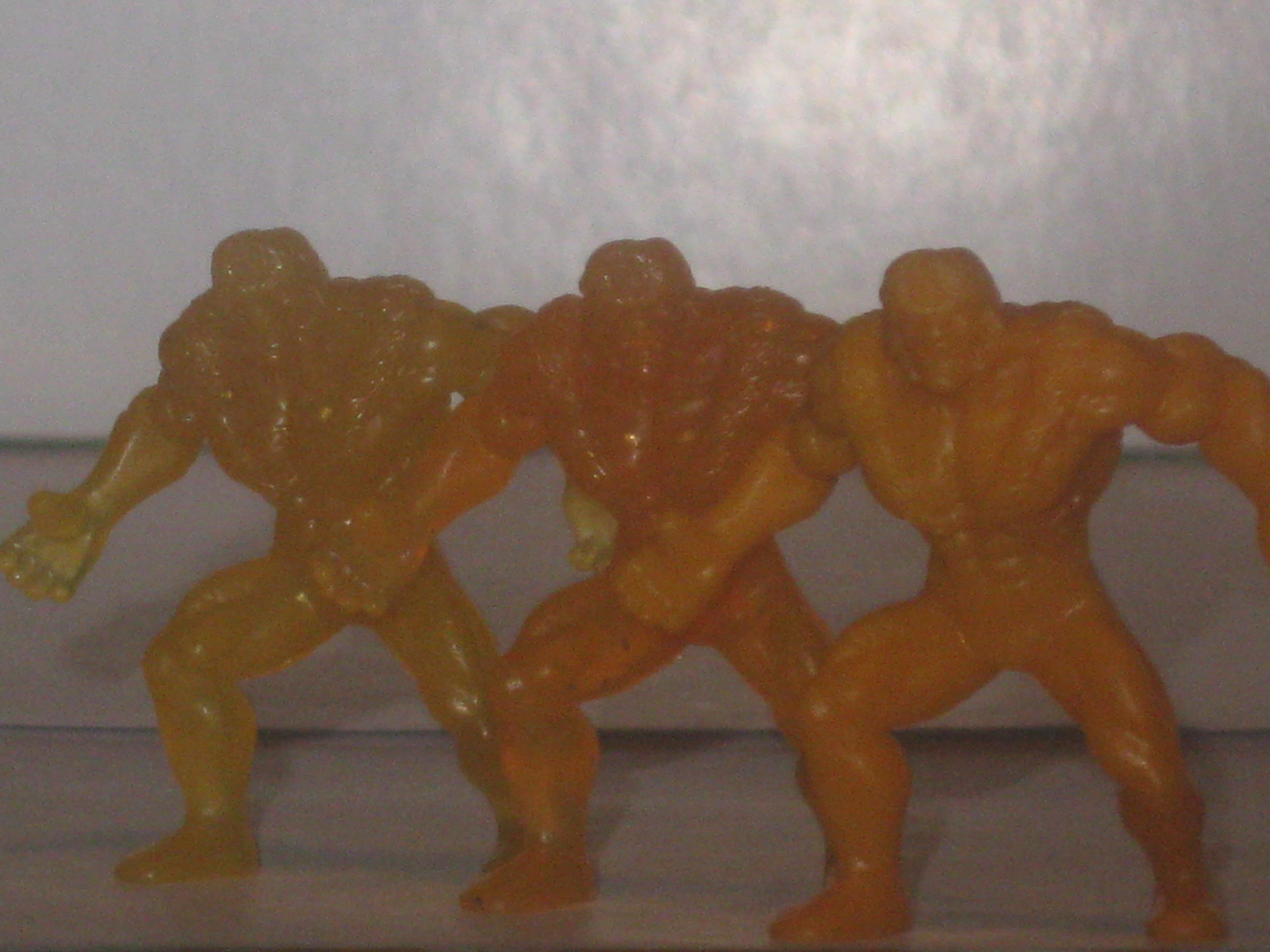 Hasbro Marvel Handful of Heroes Wave 1 Ufoes X-Ray Solid Dark Red