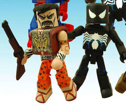 Minimates- BiB Spider-Man and Kraven