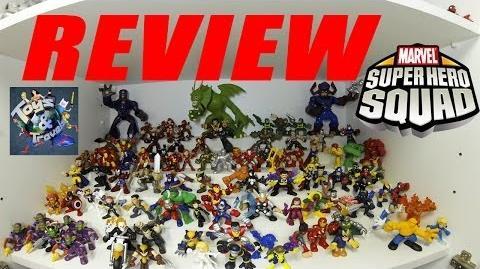 Review Coleção Marvel Super Hero Squad (+ de 250 bonecos!)