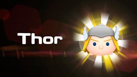 Thor Skills Intro MARVEL Tsum Tsum