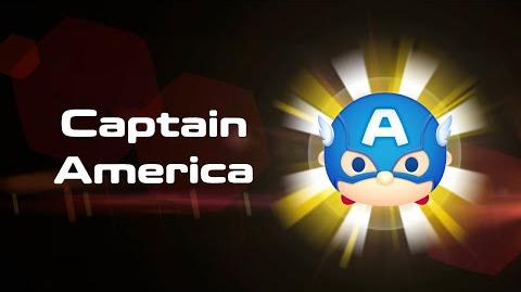 Captain America Skills Intro MARVEL Tsum Tsum