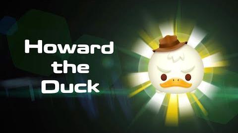 Howard the Duck Skills Intro MARVEL Tsum Tsum