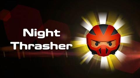 Night Thrasher Skills Intro MARVEL Tsum Tsum