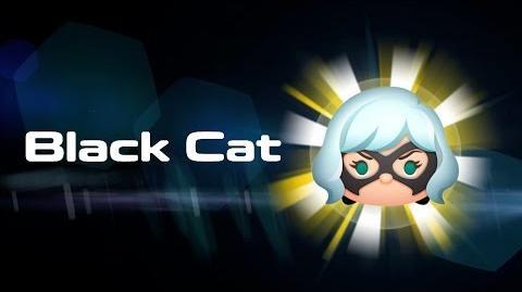 Black Cat Skills Intro MARVEL Tsum Tsum