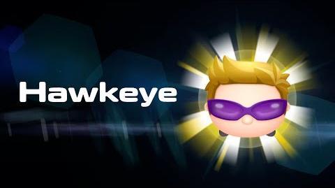 Hawkeye Skills Intro MARVEL Tsum Tsum