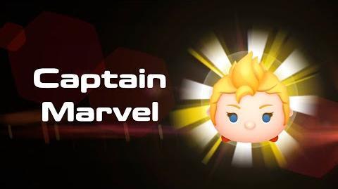 Captain Marvel Skills Intro MARVEL Tsum Tsum