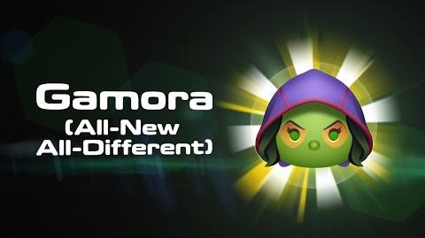 Gamora (All-New All-Different) Skills Intro - MARVEL Tsum Tsum
