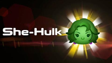 She-Hulk Skills Intro MARVEL Tsum Tsum